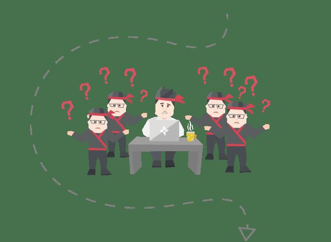 Pułapka 10: Zbudowałeś zespół, który Ciebie potrzebuje