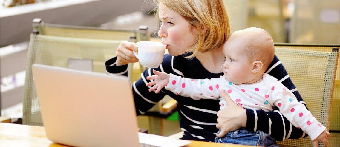 Cała prawda o pracy zdalnej z dzieckiem